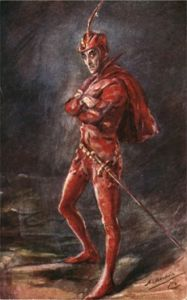 Sir Henry Irving as Mephistopheles
